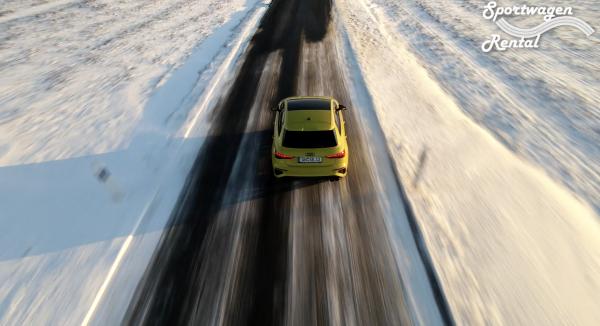 Audi S3 Sportback Gelb